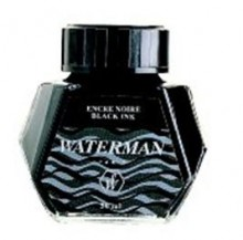 Atrament Waterman 50 ml, czarny