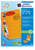 Papier fotograficzny AVERY Laser A-4 200 g/m2 2098 Superior Colour Laser, matowy