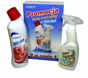 VOIGT zestaw WC �el 750ml + T�usty Brud Spray
