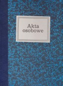 Akta osobowe-introligatorskie