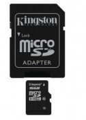 Karta pamięci KINGSTON MicroSDHC 16 GB class 10 z adaptorem