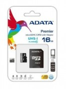 Karta pamięci A-DATA Micro SD HC 16GB + adapter Class10
