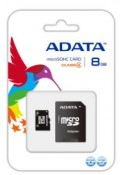 Karta pamięci A-DATA Micro SDHC 8 GB Class 4 + adapter SD