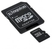 Karta pamięci KINGSTON Micro SDHC 32 GB Class 10 z adapterem SD