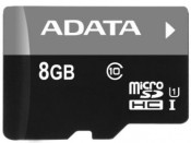 Karta pamięci A-DATA Micro SD HC 8GB Class10