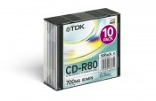 Płyta CD-R TDK 700 MB Slim x52